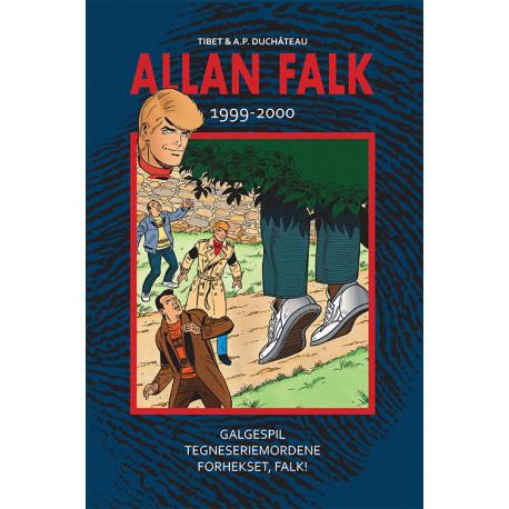 Allan Falk 1999-2000: Galgespil - Tegneseriemordene - Forhekset, Falk!