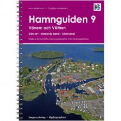 Hamnguiden 9: Vänern och Vättern, Göta älv, Dalslands kanal, Göta kanal, 2. utgave
