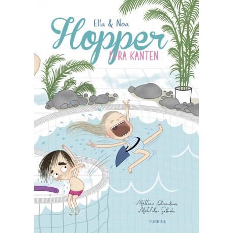 Ella og Noa –hopper i fra kanten