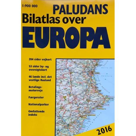 Paludans Bilatlas over Europa 2016