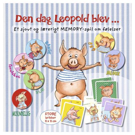 Den dag Leopold blev ... Et sjovt og lærerigt memory-spil om følelser