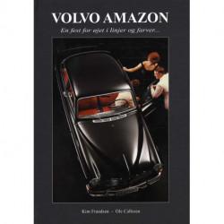 Volvo Amazon: En fest for øjet i linjer og farver..