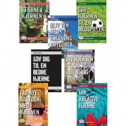 Serie med syv minibøger - Hjernevenner