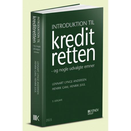 Introduktion til kreditretten: og nogle udvalgte emner