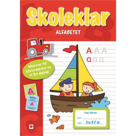 Skoleklar: Alfabetet