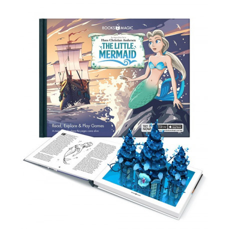 The Little Mermaid - A Magical Augmented Reality Book: The Original Fairy Tale by Hans Christian Andersen