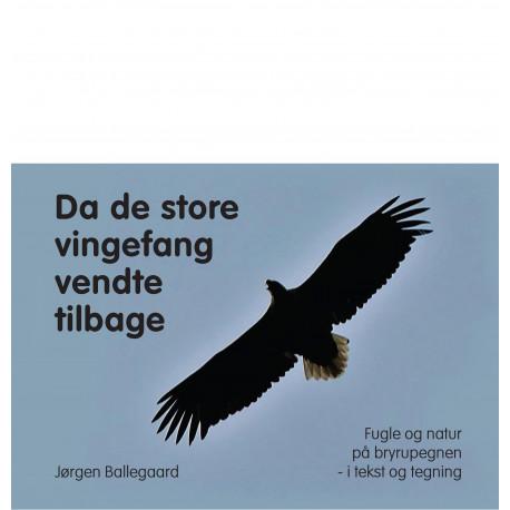 Da de store vingefang vendte tilbage: Fugle og natur på bryrupegnen - i tekst og tegning
