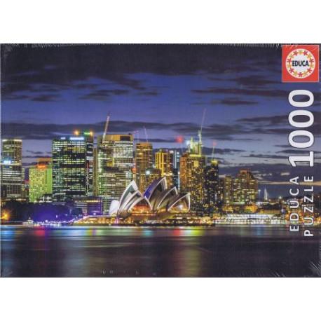 Sydney City Twillight puslespil 1000 brikker