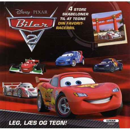 Biler - tegn din favorit-racerbil