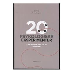 20 PSYKOLOGISKE EKSPERIMENTER: der ændrede vores syn på mennesket