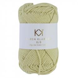 8/8 Pastel Yellow - KK Color Cotton økologisk bomuldsgarn fra Karen Klarbæk