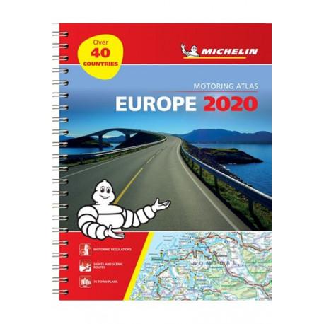 Michelin Motoring Atlas Europe 2020