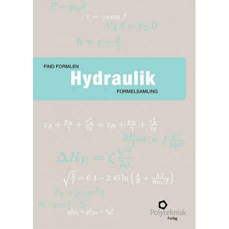 Find formlen - hydraulik: formelsamling