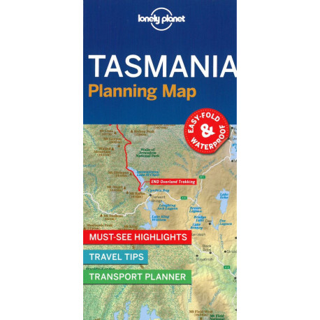 Lonely Planet Planning Map: Tasmania