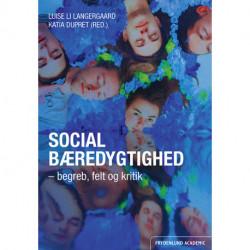 Social bæredygtighed: begreb, felt og kritik