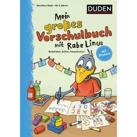 Mein großes Vorschulbuch mit Rabe Linus
