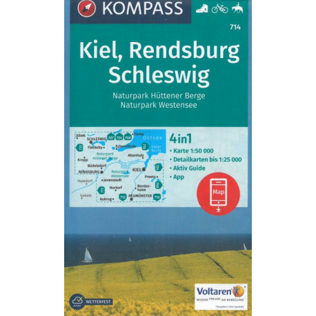 Kiel, Rendsburg Schleswig: Hüttener Berge, Westensee