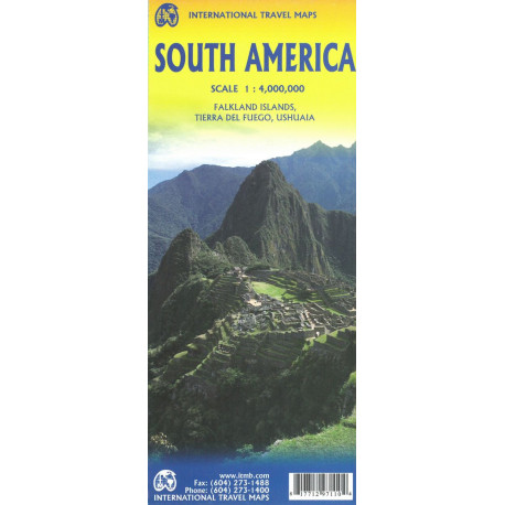 South America, Interntional Travel Maps