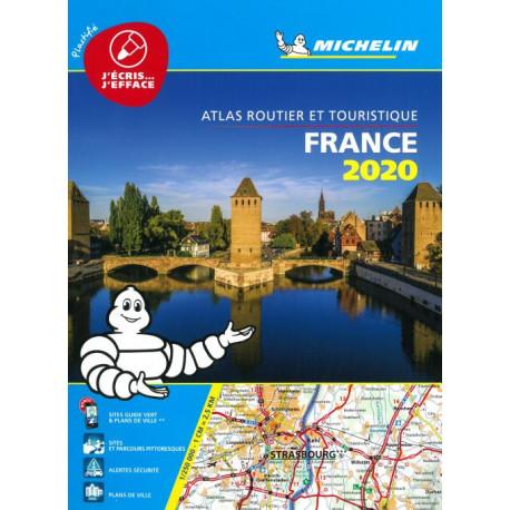 Michelin Tourist & Motoring Atlas France 2020 (Laminated)