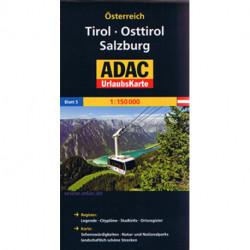Tirol, Osttirol, Salzburg