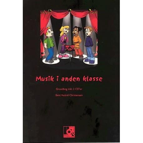 Musik i anden klasse: Grundbog inkl. 2 CD er