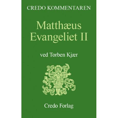 Matthæus-evangeliet 2: en indledning og fortolkning