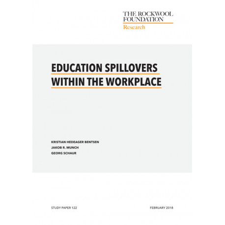 Education spillovers within the workplace