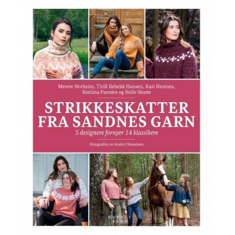 Strikkeskatter fra Sandnes garn : 5 designere fornyer 14 klassikere: 5 designere fornyer 14 klassikere
