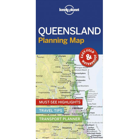 Lonely Planet Planning Map: Queensland
