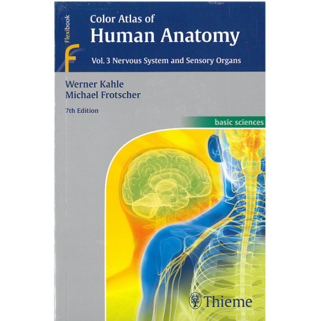 Color Atlas of Human Anatomy vol. 3: Nervous System and Sensory Organs