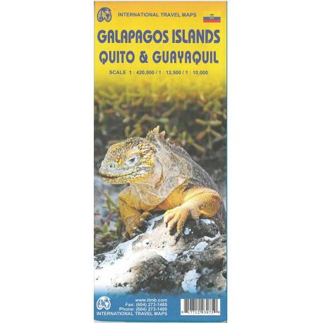 Galapagos Islands, Quito & Guayaquil