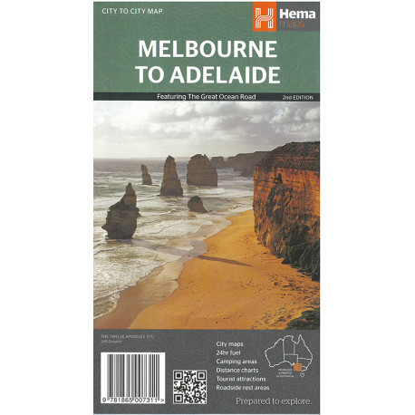 Melbourne to Adelaide: Featuring The Great Ocean Road