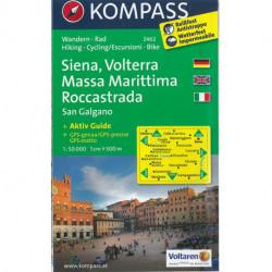 Siena, Volterra, Massa Marittima, Roccastrada, San Galgano