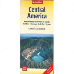 Central America: Yucatán, Belize, Guatemala, El Salvador, Honduras, Nicaragua, Costa Rica & Panama
