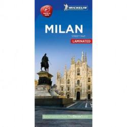 Milan - Milano Street Map Laminated