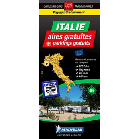 Italy: Autocamper map - Motorhome Stopover