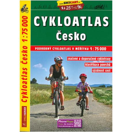 Cykloatlas Cesko - Cycling Atlas Czech Republic