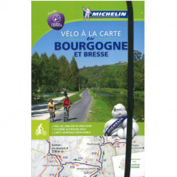 Bourgogne Bike Map & Atlas - Vélo à la carte en Bourgogne et Bresse