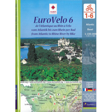 EuroVelo 6: From Atlantic to Rhine River by Bike