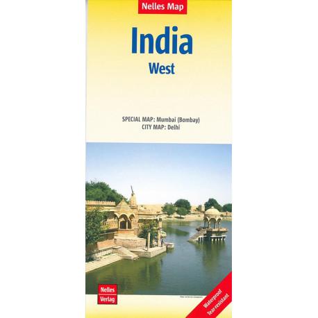 Nelles Map India: India West
