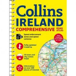 Ireland Comprehensive Road Atlas