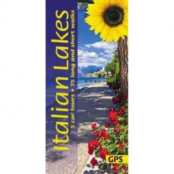 Italian Lakes: 5 car tours, 75 long and short walks