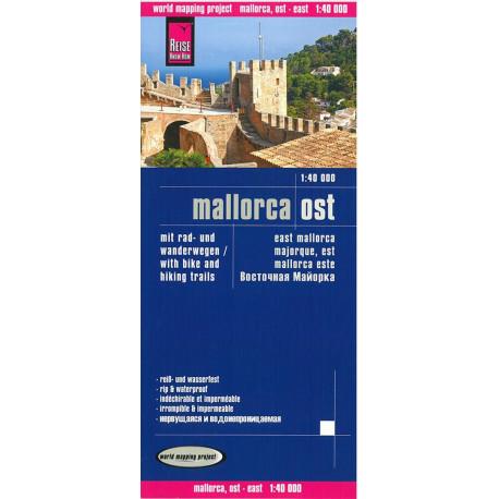 Mallorca East with Bike- and Hikingtrails