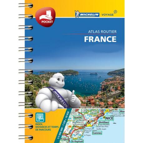 Michelin Mini Atlas France 2019