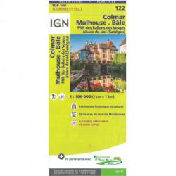 TOP100: 122 Colmar - Mulhouse - Bâle: PNR des Ballons des Vosges Alsace du Sud (Sundgau)