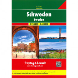 Bilatlas Sverige - Sweden Road Atlas - Schweden Grosser Autoatlas