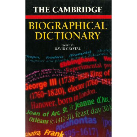 Cambridge Biographical Dictionary