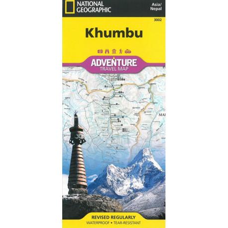 Khumbu Nepal Adventure Map