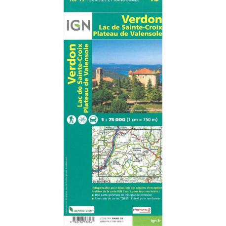 TOP75: 75013 Verdon - Lac Sainte-Croix - Plateau de Valensole