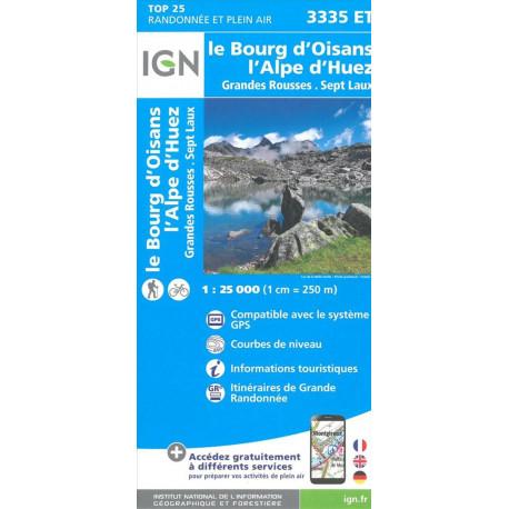 TOP25: 3335ET Le Bourg d'Oisans - L'Alpe d'Huez - Grandes Rousses